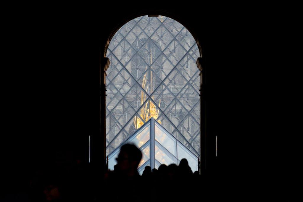 Ieoh Ming Pei a signé la Pyramide du Louvre. [©ACPresse]