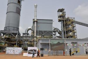En avril dernier, Cimencam a inauguré une toute nouvelle usine, à côté de Yaoundé, la capitale camerounaise. [©Cimencam]