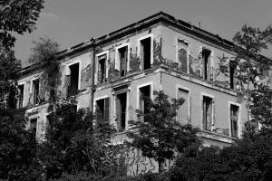 Située à Saint-Denis (93), la Maison de Coignet est Classée Monument Historique depuis 1998 et nécessite d'importants travaux de rénovation. [©Mossot]