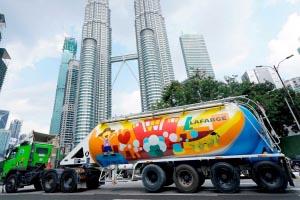 LafargeHolcim a décidé de se désengager de ses investissements en Aise du Sud-Est, et notamment, en Malaisie. [©LafargeHolcim]