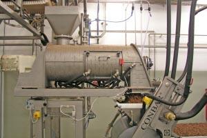 Les procédés de mélange en continu de poudres ou granulés s'imposent dès lors que les recettes du mélange restent stables sur des périodes supérieures à 2 h de production. [©Gericke]