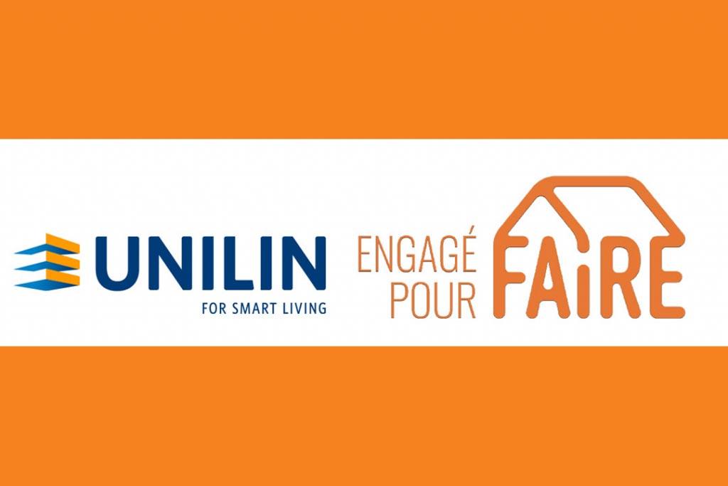 """Unilin Insulation fait partie des premiers industriels signataires de la charte """"Engagé pour FAIRE"""". [©Unilin Insulation]"""