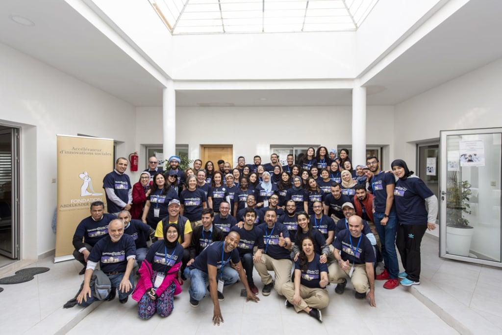 Le centre a été inauguré le 19 avril 2019 en présence d'Operation Smile, d'Article 25, de l'équipe de Sto et du personnel médical. [©Grant Smith, Londres]