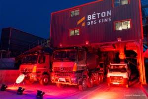 Le 6 juin, Mauro Béton inaugure son nouveau nom, Béton des Fins, et une nouvelle centrale à béton. [©Guillaume Médard]