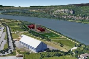 Cem'In'Eu a sélectionné Fives FCB pour équiper l'atelier de broyage de son futur site de production de Portes-les-Valence (Drôme). [©Cem'In'Eu]