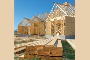 L'ITE convient parfaitement aux constructions à ossature bois. [©ACPresse]