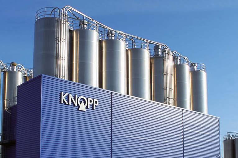 Knopp propose le Contopp Azo FlowPlus, permettant avec un seul produit de fabriquer trois types de chapes fluides différentes. [©Knopp]
