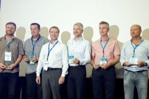 Les équipes de Parexlanko ont reçu le Trophée d'or à l'occasion du 47e congrès de l'Untec pour le programme Niwa. [©Parexlanko]