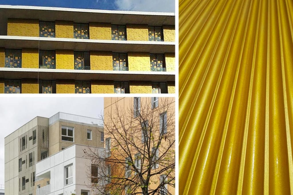 """Véritable cosmétique, ProtectGuard Color """"Haute Joaillerie"""" sublime l'œuvre architecturale. [©Guard]"""