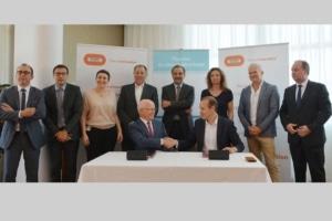 HGCT et Bouygues Construction ont signé un partenariat pour développer des bétons à faible empreinte carbone. [©Bouygues Construction]