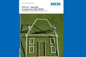 Delta propose une brochure permettant de se rendre compte des évolutions du DTU 31.2. [©Dörken]