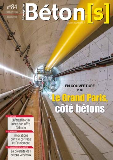 Béton le Magazine n°84 - Le grand Paris côté bétons