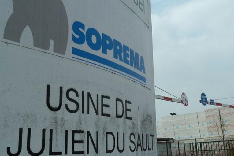 Usine de polyuréthane du groupe Soprema, située à Saint-Julien-du-Sault (89). [©Soprema]