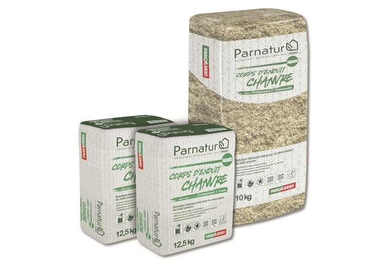 Parexlanko a sorti, le 24 octobre dernier, le tout premier produit de sa gamme Parnatur. [©Parexlanko]
