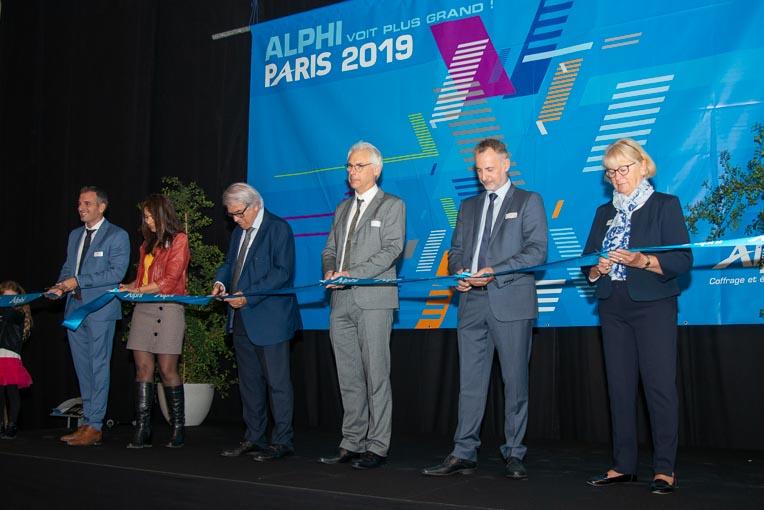 Inauguration du nouveau pôle logistique Alphi, à Coignières, en Ile-de-France. [©ACPresse]