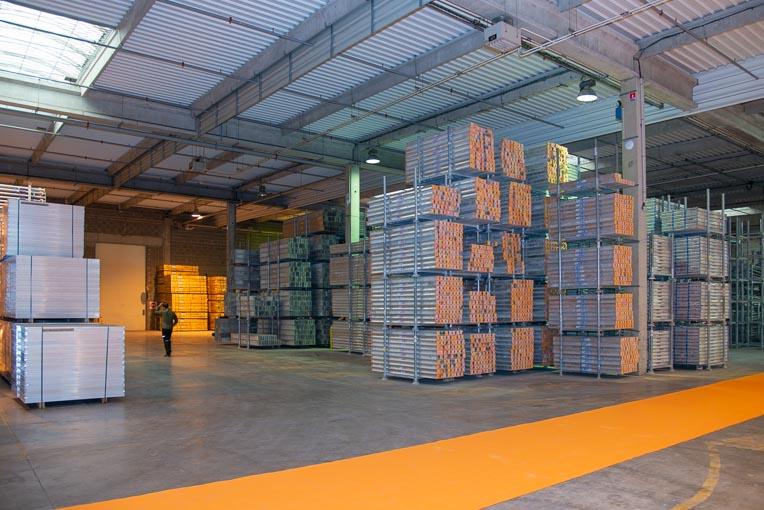 Le nouveau dépôt Alphi comprend un bâtiment de 7 000 m2 couverts. [©ACPresse]