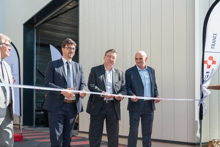 Inauguration de l'extension du centre de formation Césame de Vinci Construction France. [©ACPresse]