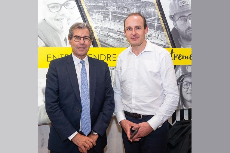A gauche, Julien Blanchard, président de HCGT. A droite, Jacques Marcel, président de GCC.