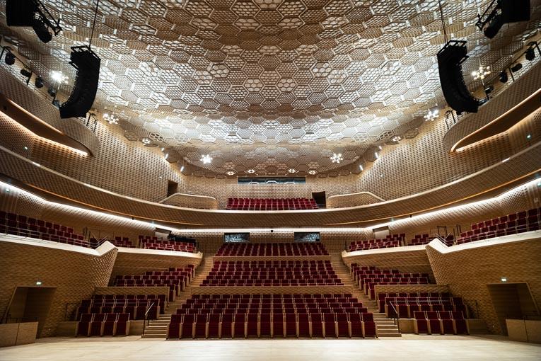 Prix innovation/développement durable – Werey Stenger Plâtre et Staff – La Seine Musicale. [©Gilles Delacuvellerie]