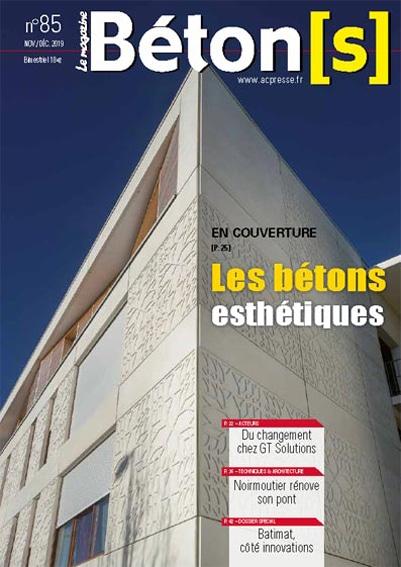 Béton le Magazine 85 les bétons esthétiques