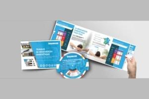 Didactique, le Kit CEE de Knauf Insulation se compose de trois outils : un guide, une réglette et un disque. [©Knauf Insulation]
