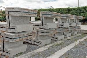 Eléments destinés à la construction d'une station d'épuration au Pays de Galles. [©ACPresse]