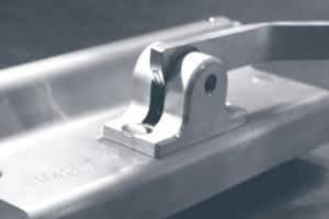 AdC est venu au salon Batimat, avec le MagFly AP, une coque de serrage pour coffrage. [©BT Innovation]