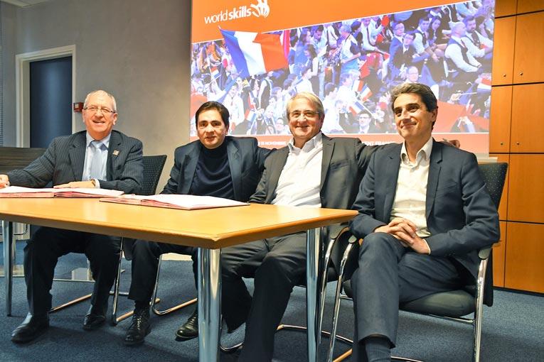 Le partenariat entre SGDB France et WorldSkills permet au groupe d'apporter son soutien à tous les jeunes professionnels et apprentis, qui concourent aux Olympiades des Métiers. [©SGDB France]