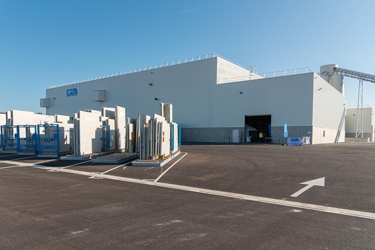 Un bâtiment flambant neuf de 7 000 m2 constitue la nouvelle usine KP1 de Vernouillet. [©ACPresse]