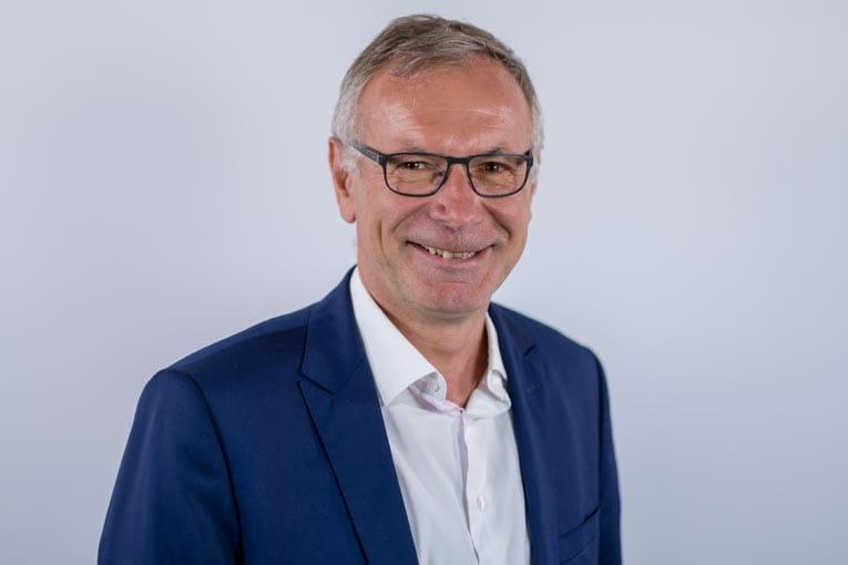 Bruno Pillon, président des activités France d'HeidelbergCement. [©HeidelbergCement]