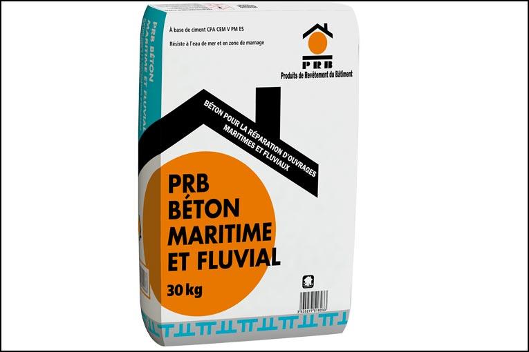 PRB lance PRB Maritime et Fluvial, un béton prêt à l'emploi pour réparer des ouvrages en milieu immergé. [©PRB]