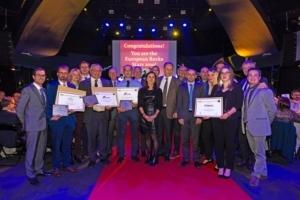 Les lauréats français primés aux Trophées européens du développement durable, le 20 novembre dernier. [©BSR]