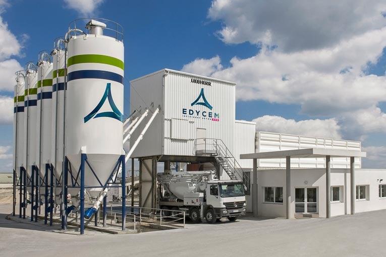 Edycem et BHR sont en négociations pour le rachat de six centrales à béton de BHR. [©Edycem]