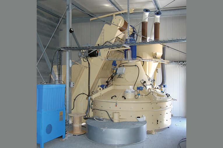Rocchi propose des nettoyeurs automatiques à haute pression pour malaxeurs.  [©Rocchi]