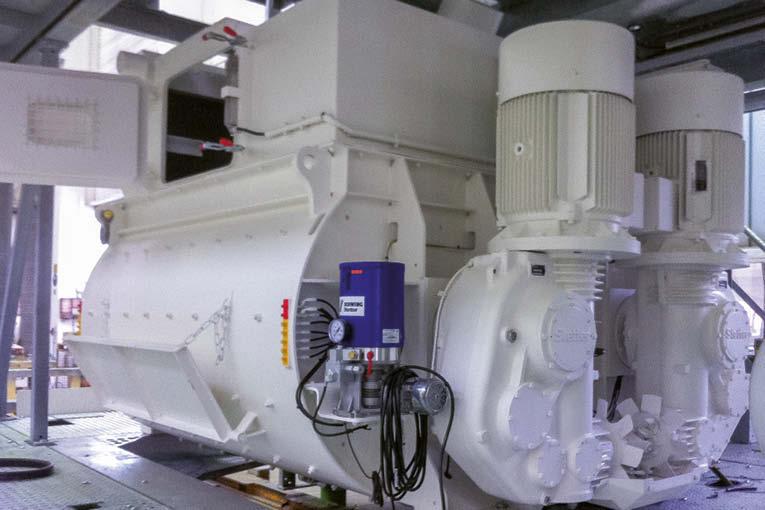 Schwing Stetter a plutôt l'habitude de proposer des installations complètes de centrales. Mais édite aussi des malaxeurs.  [©Schwing Stetter]