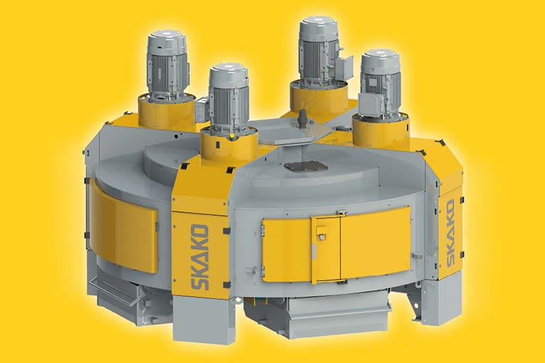 Avec l'AM6000, Skako Concrete vient d'étendre son offre de malaxeurs planétaires. [©Skako Concrete]