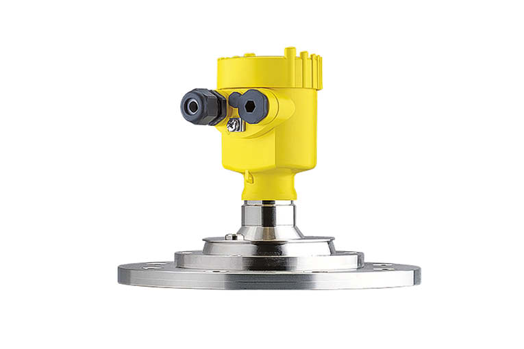 Le VegaPuls 69 est un radar dédié à la mesure de niveau du vrac. [©Vega]