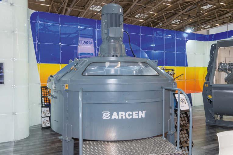 La nouvelle version du malaxeur planétaire MS d'Arcen. [©ACPresse]