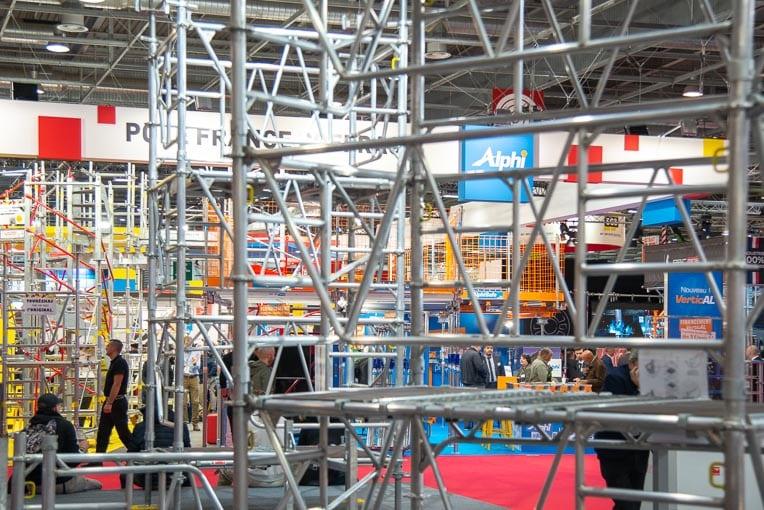 Le Hall 5B de Batimat a accueilli les constructeurs de matériels pour le BTP. [©ACPresse]