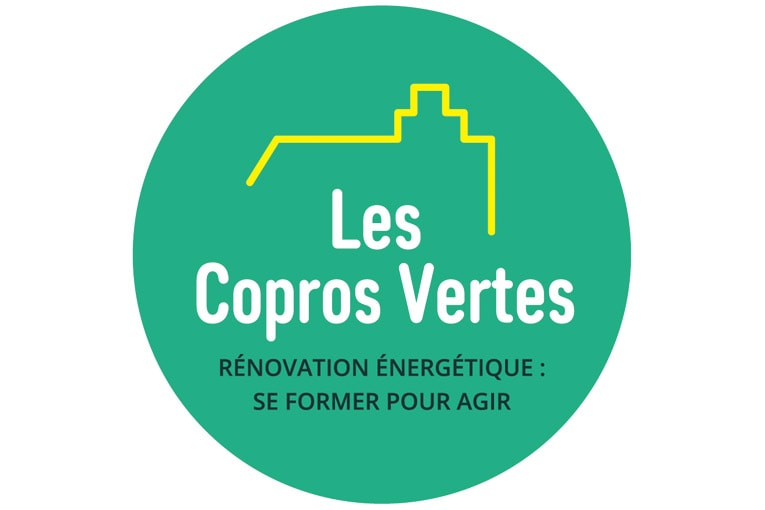 La Fnaim et l'association Qualitel lancent Les Copros Vertes, afin d'accélérer la rénovation énergétique des copropriétés. [©Les Copros Vertes]