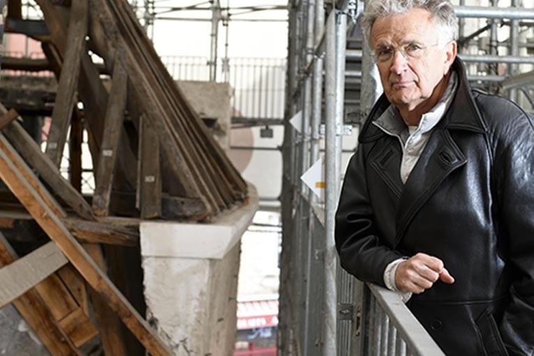 Le 17 décembre dernier, Patrick Bouchain, architecte et scénographe a reçu le Grand Prix de l'urbanisme 2019. [©Mathias Wendzinski]