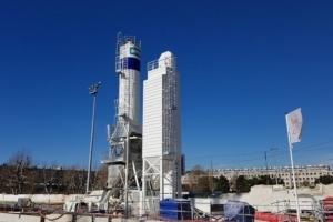 La nouvelle centrale mobile STK d'Imer France a été déployée, pour la première fois, en France en plein centre de Marseille. [©Imer France]