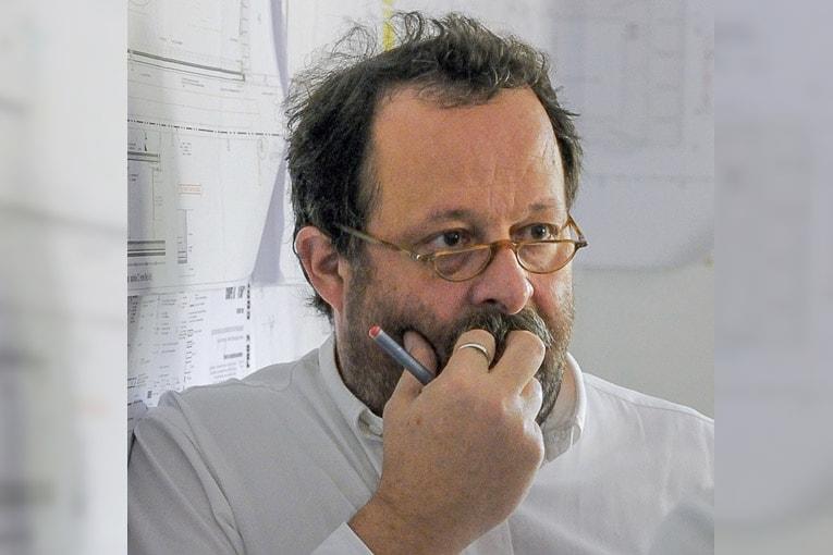 Giovanni Lelli : « Je ne suis pas un monomaniaque du béton, mais j'aime les matériaux vrais, homogènes dans la masse ». [©Lelli Architectes]