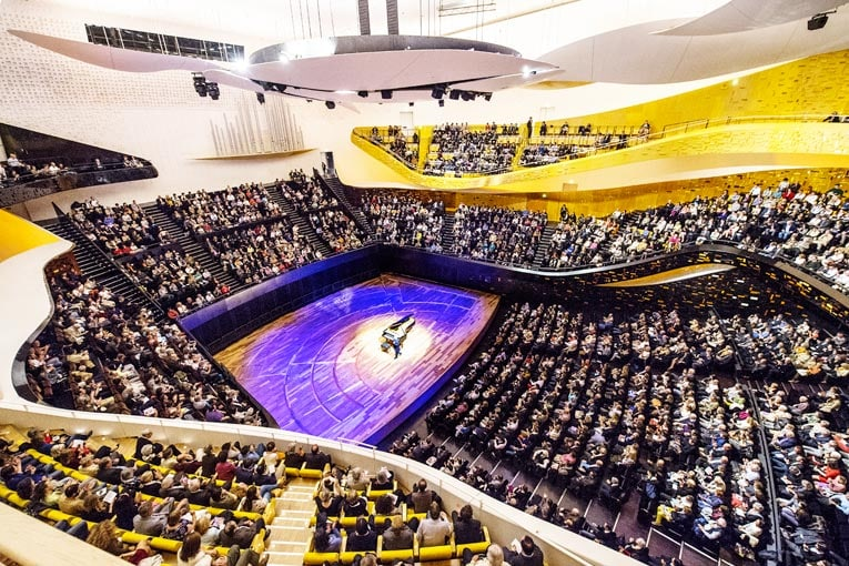 Philharmonie de Paris, récital piano - Grande salle Pierre Boulez [©William Beaucardet/Philharmonie de Paris]