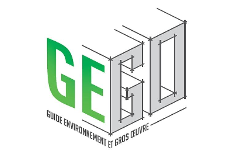 Logo du Guide environnemental du gros œuvre.