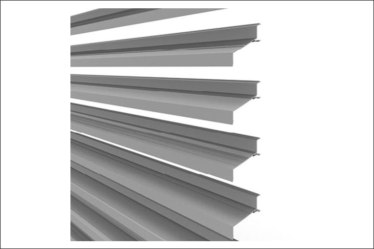 Duco Ventilation & Sun Control présente son DucoWall Screening 70. [©Duco Ventilation & Sun Control]