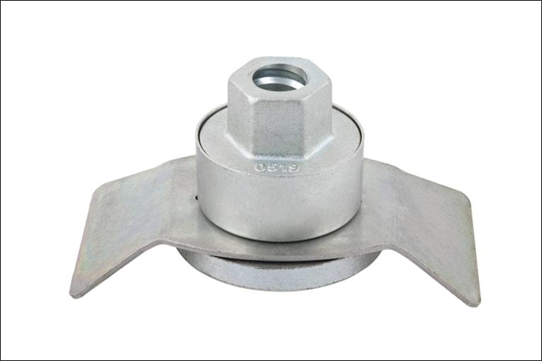 """L'écrou Préci'force """"Evolution"""" de Würth permet d'assurer un serrage optimal et constant des tiges de banches. [©Würth]"""