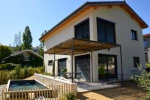 Le co-fondateur de Femat s'est offert une maison passive, à Ecully, près de Lyon. [©Soprema]