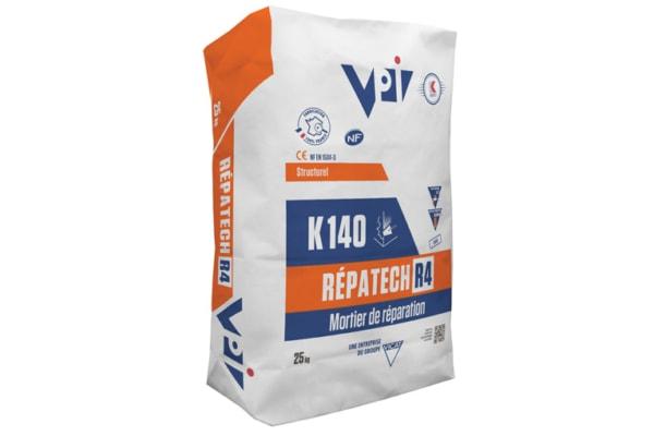 Le Répatech R4 K140 peut être utilisé pour la réparation structurelle des ouvrages de Génie Civil. [©VPI]