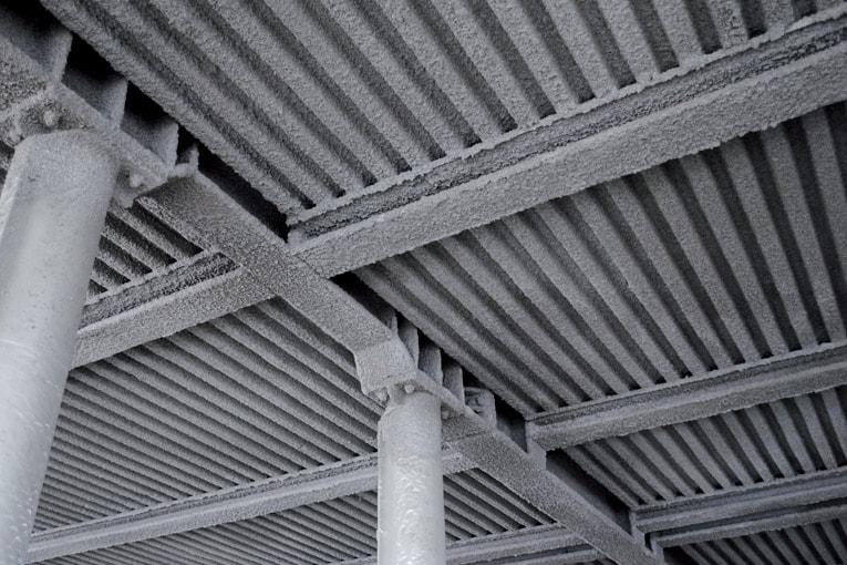 Protherm Light a été conçu pour la protection au feu des éléments de construction porteurs ignifuges. [©Edilteco]